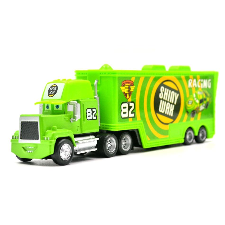 Disney Pixar Cars 3 9 Styles Mack Truck McQueen Uncle 1:55 Diecast - Bilar och fordon - Foto 6