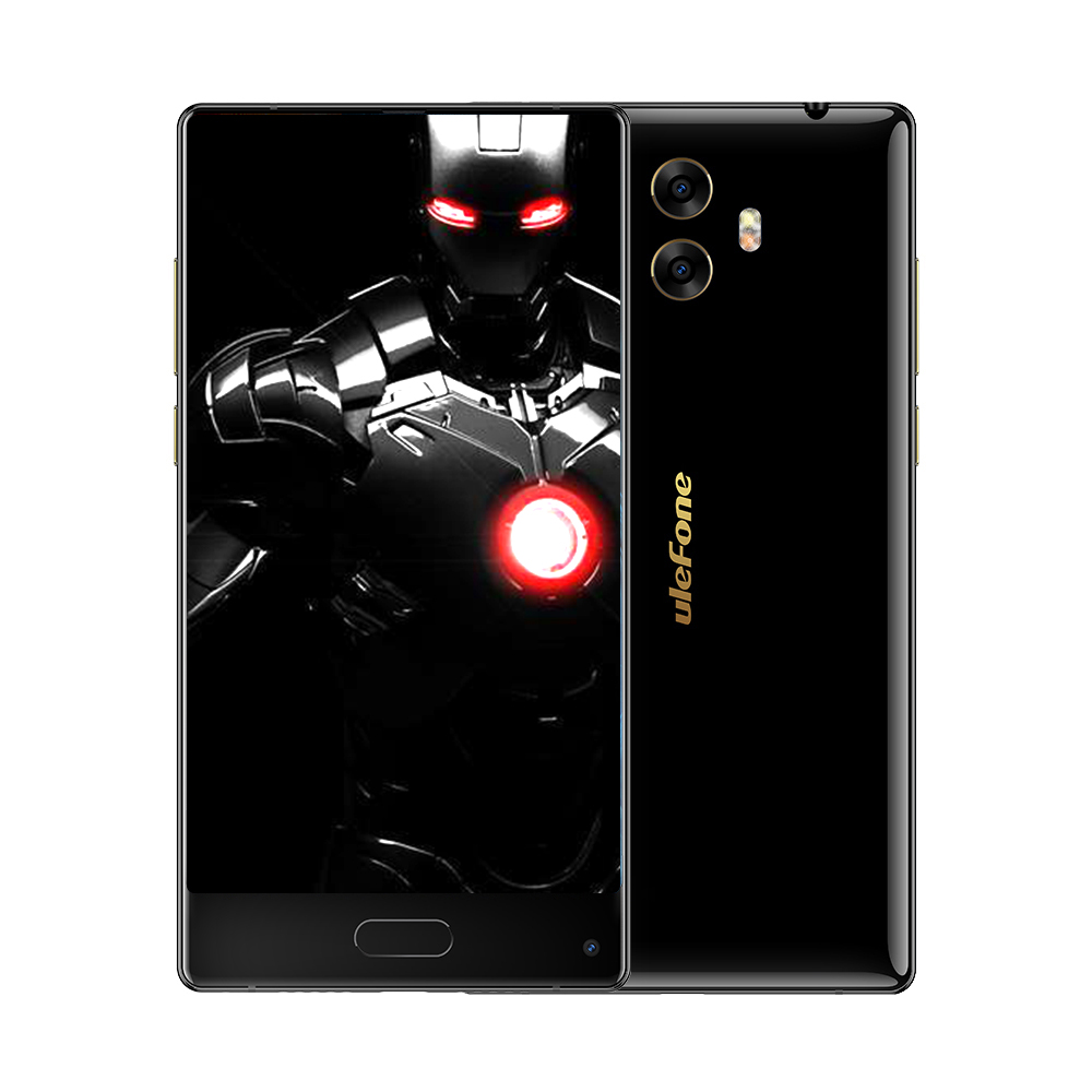 Ulefone MIX S 5.5 Inch Bezel-less Smart phone Quad Core 2GB RAM 16GB ROM Android 7.0 13MP 3300mAh Fingerprint ID 4G Mobile phone