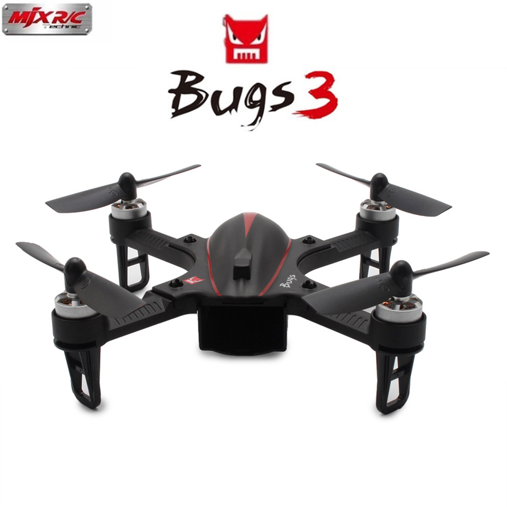 Mjx B3 Bugs 3 Brushless RC Drone 175mm Mini Helicopter Quadcopter RTF Motor 6-axis Gyro Camera Mount for Gopro Xiaomi yi Camera