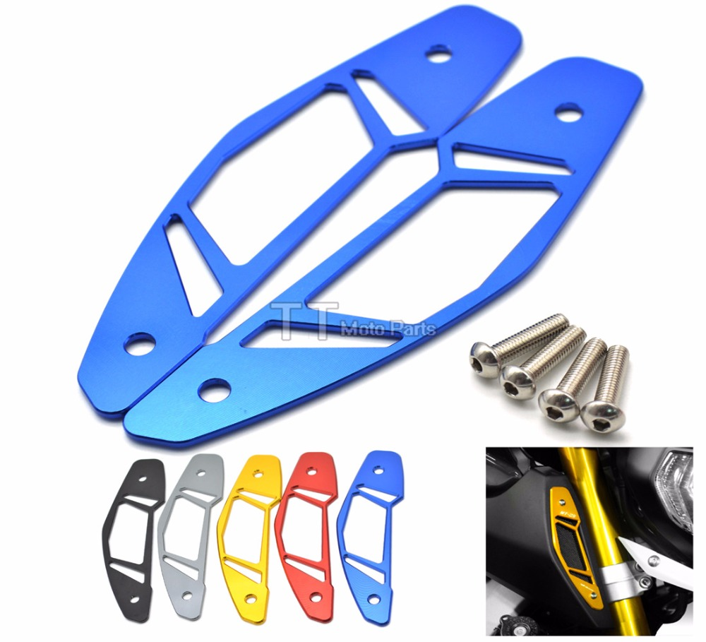 Motorcycle CNC Aluminum Air Intake Covers Blue Accessories For Yahama MT-09 MT09 2013 2014 2015 2016