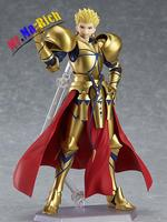 """Fate/stay Night Figma 300# Fate Gilgamesh Pvc Action Figure Collectible Model Christmas Gift Toy 5.5""""15cm"""