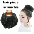 Free Shipping Synthetic Chignon hair piece scrunchie donuts Women's hair Bun Cover
