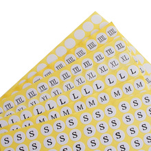 Wholesale Stock Paper Self-Adhesive Size Labels For Clothing Garment Shoes Size Sticker Tags Sticker Size Label Xs S M L Xl Size cheap OPALUS CN(Origin) Plastic Eco-Friendly SZL0002R@#AM Main Lables Garment Labels PRINTED Yes( 50 Pcs) Bags