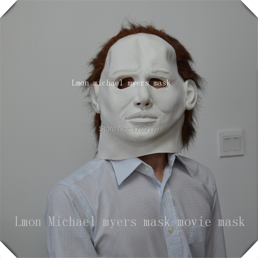 Latex Michael Myers Style Mask Halloween Horror Movie High Quality ...