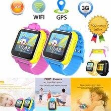 SHZONS Q730 3G сети 4 г памяти Детские Смарт часы-телефон с Wi-Fi GPS позиционирования HD Камера кнопка SOS для iOS и Android
