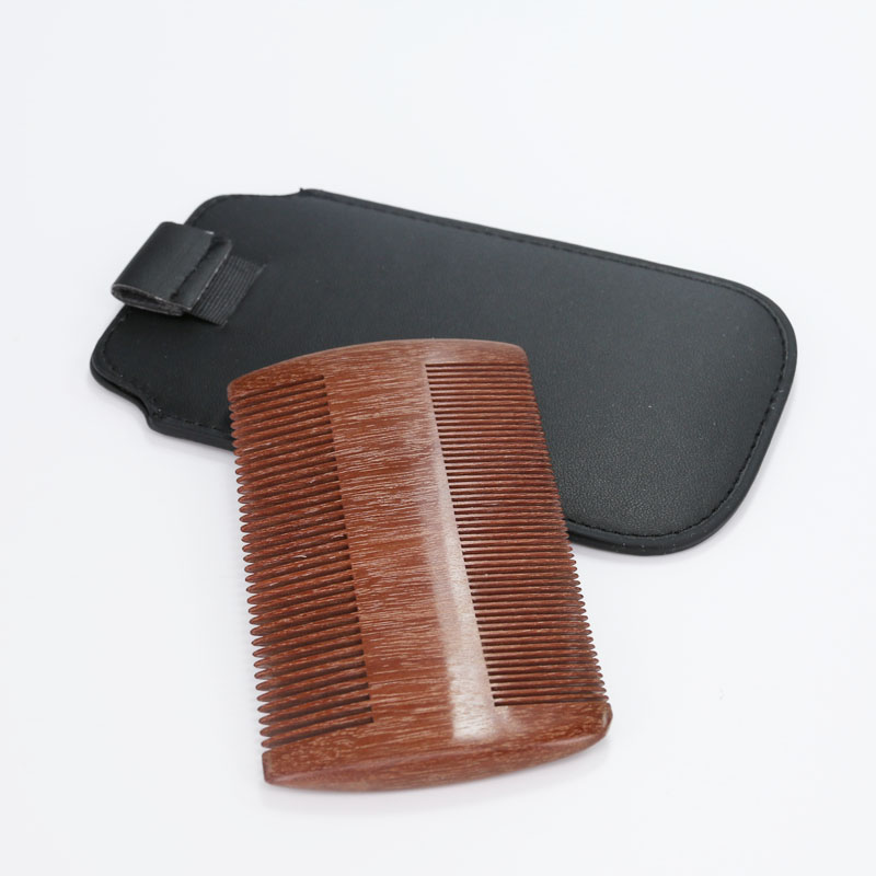 2017 New Arrival Sandalwood Comb- Wooden Anti-static Handmade Pocket Unisex Hair and Beard Wood Comb