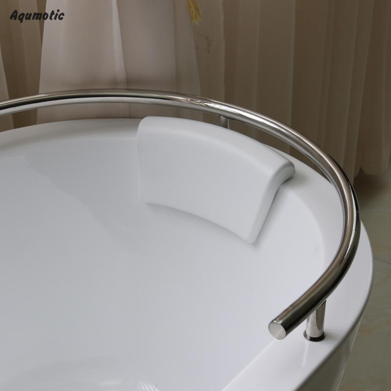 Aqumotic Home Spa Bath Pillow For Straight Back Tub Pillow Rest ...