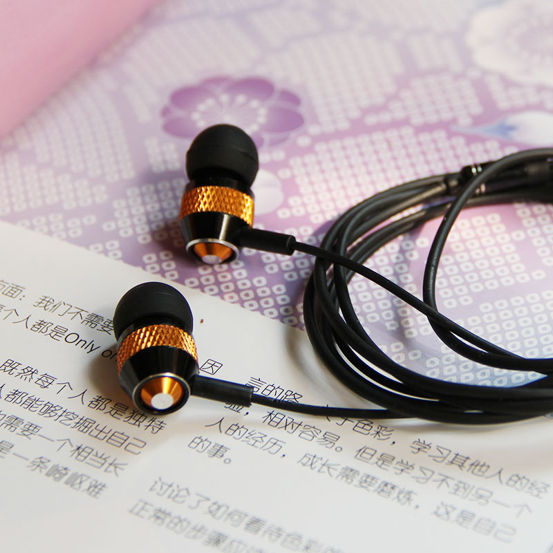 3.5mm Stereo In-ear Earphone Headphone Headset Earbuds With Microphone Clients First Earphones & Headphones