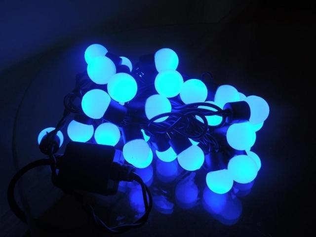 50X Blue holiday light LED string light free shipping
