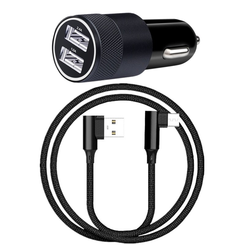 Type C Cable For Sony Xperia L1 L2 Xz Xzs Xz1 Xz2 Premium X Compact Xa1 Plus Xa2 Ultra Independent Quick Charge Qc 3.0 2-usb Car Charger Mobile Phone Accessories