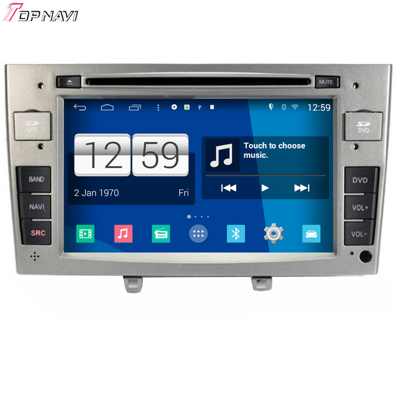 7'' Quad Core S160 Android 4.4 Car DVD Multimedia For Peugeot 408 With Stereo Radio GPS Mirror Link 16Gb Flash Free Shipping