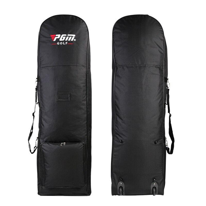جديد حقيبة غولف السفر الطيران مع عجلات سعة كبيرة نادي غطاء طوي خفيفة الوزن مقاوم للماء طائرة السفر الكرة أكياس