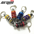 ACE-New metal big Shock Absorber Keychain Car AutoTuning Parts Key Chain Shock Absorber JDM keychian
