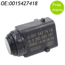 New Parking Distance PDC Sensor  0015427418 For Mercedes-Benz W203 W209 W210 W211 W220 W163  W168 W215 W 251 S203 C203