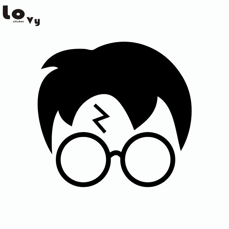 Classic Movie Harry Potter Silhouette Vinyl Wall Sticker ...