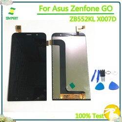 ЖК-дисплей для ASUS Zenfone GO ZB552KL X007D ЖК-дисплей кодирующий преобразователь сенсорного экрана в сборе для ASUS Zenfone GO ZB552KL X007D
