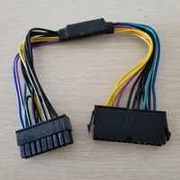 30 шт./лот ATX PSU 18AWG 18Pin к 24Pin адаптер конвертер Мощность Соединительный кабель для HP z420 z620 Desktop рабочей станции Montherboar