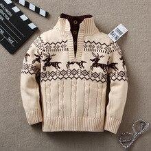 New boy winter autumn infant baby Cartoon sweater boy girl child sweater baby turtleneck sweater children outerwear sweater