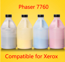 Free Shipping Compatible for xerox phaser 7760 Chemical Color Toner Powder  printer color powder 4KG