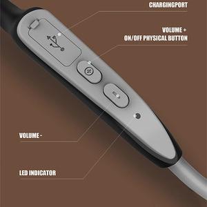 Image 5 - سماعات بلوتوث 5.0 S. Wear لاسلكية التوصيل العظام سماعة الرياضة في الهواء الطلق سماعة مع ميكروفون سماعات يدوي