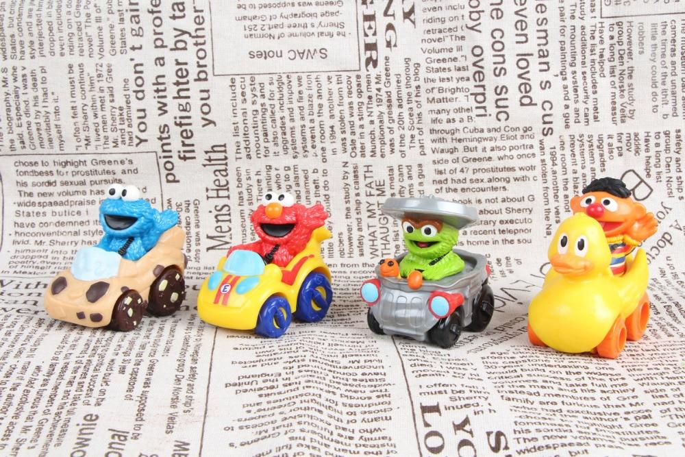 1pcs Sesame Street Elmo,Super Grover and Cookie Monster Big Bird Playskool Racers gurpreet kaur deepak grover and sumeet singh dental mobility and splinting