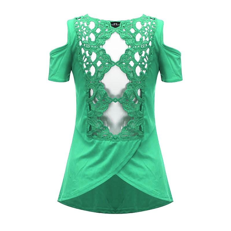 HTB1RZCjNXXXXXcCaFXXq6xXFXXX6 - 2017 Summer Blusas Sexy Women Blouses Lace Crochet Short Sleeve
