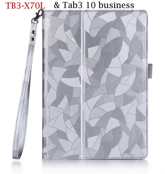 TB3-X70L Tab3 10 plus business X70F/N PU leather case For Lenovo TAB 2 Tab2 X30 X30M A10-30f Tab-X103f 10.1 tablet case