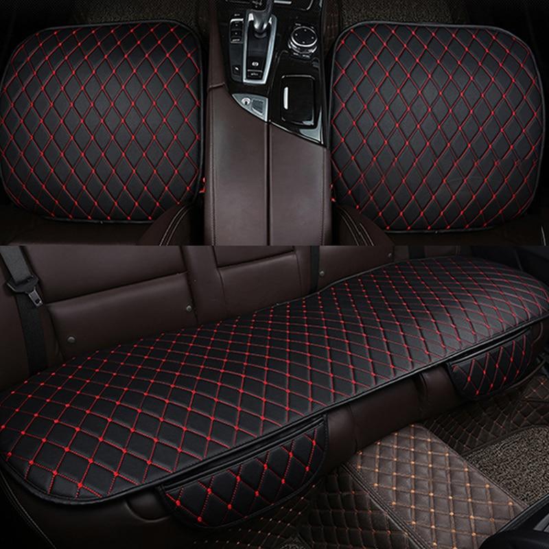 Strange Pu Leather Car Seat Cover Universal Cars Seats Cushion Machost Co Dining Chair Design Ideas Machostcouk
