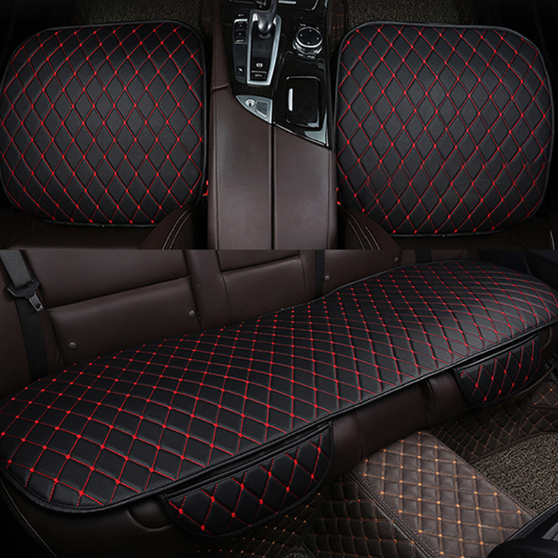 PU Leather font b Car b font Seat Cover Universal font b Cars b font Seats