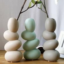 Vase Ceramic House Living Room Flower Egg Dried Desktop Wallpapers Ornament Decoration
