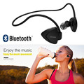 Noise cancelling focus on sports bluetooth earphone stable earhook power capacity display two device together NFC speed pairing