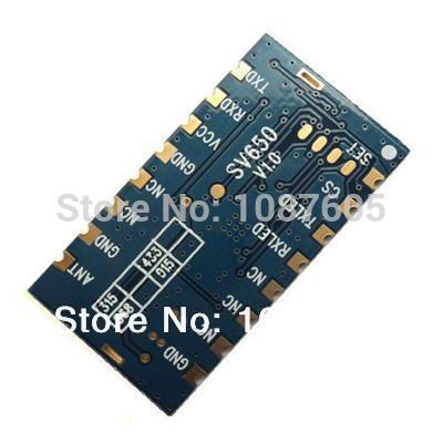 1 pc / lote SV650 433 MHz RS485 Embutido 500 mW módulo transceptor - Equipamento de comunicação - Foto 4