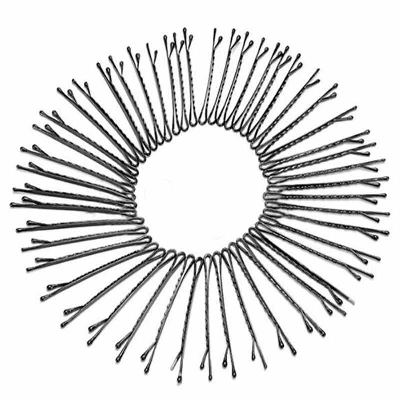 60 шт./компл. заколка шпилька для женщин женские невидимки Кудрявые Волнистые шпильки салонные аксессуары инструмент для укладки