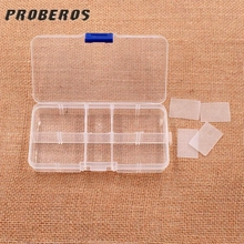 Scorching promote new 1pcs Storage Plastic Fishing toolbox Elements Casket Screw Fish Hook Lure Bait Container Compartment Bins Case Deal with