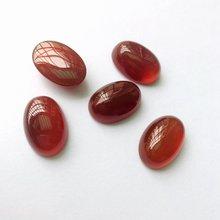 Высококачественный натуральный красный агат e Сердолик 15x22x9