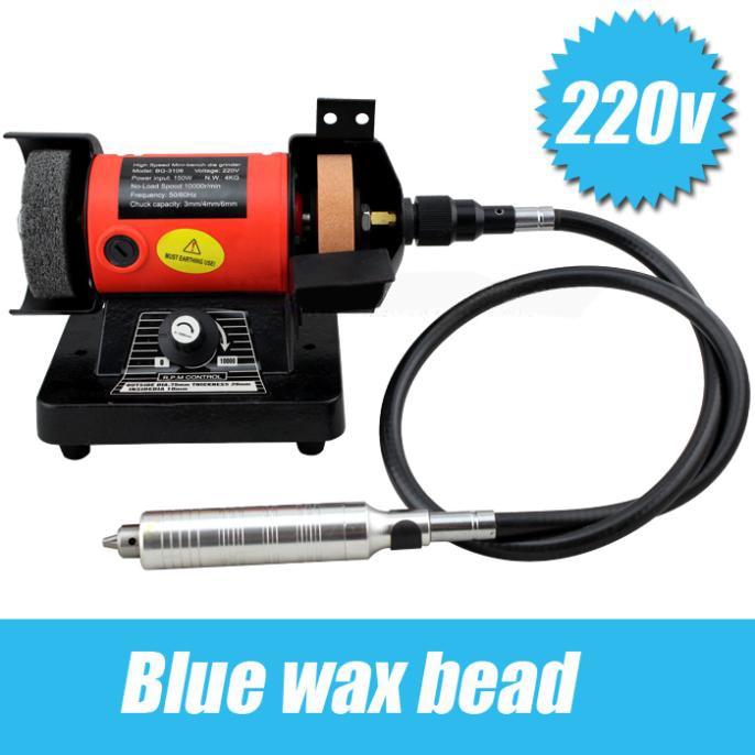 220V Double wheel grinding\polishing machine\electric bench grinder\pivots polishing machine goldsmith
