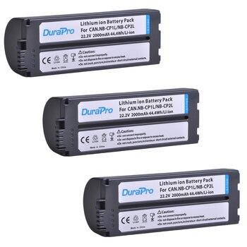 3Pc 2000mAh NB-CP2L NB CP2L NB-CP1L Battery for Canon NB-CP1L CP2L Photo Printers SELPHY CP800,CP900,CP910,CP1200,CP100,CP1300 фото