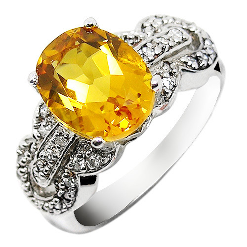 Natural Citrine Ring 925 Sterling Silver Yellow Crystal Woman Fashion Fine Elegant Jewelry Queen Lux Birthstone Gift sr0149c все цены