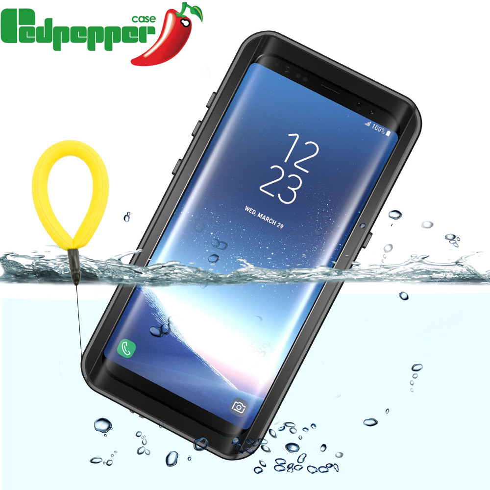 promo code 0a8b6 718c5 Phone Waterproof Samsung Galaxy S8 S8 Plus Case 360 Full Protection Clear  Front&Amp;Back Cover For Samsung S9 S9 Plus Note8