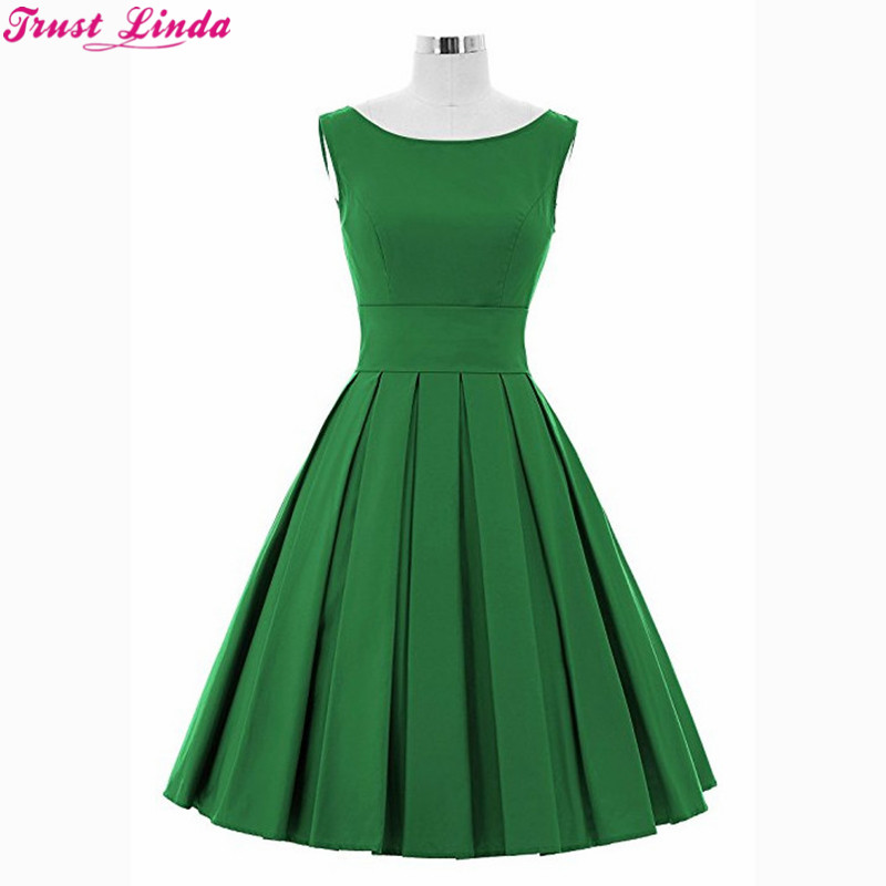 Wholesale Simple Short   Bridesmaid     Dresses   2018 Green Short Satin Knee Length wedding party Wear Gowns Custom Made Prom   dresses