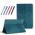 SM-T815 case TabS 9.7 inch fashion Crocodile Pattern Flip PU Leather for Samsung Galaxy Tab S 9.7 T810 T813 T819N Tablet Cover