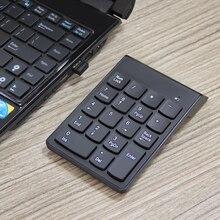 Clavier sans fil iMice Mini clavier clavier numérique USB pavé numérique numéro sans fil clavier numérique pour ordinateur portable