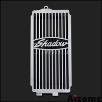 Stainless Steel Motorcycle Radiator Grill Protector Cover Guard For Honda Shadow ACE VT400 VT750 1997 2003 Spirit 750 2001 2008