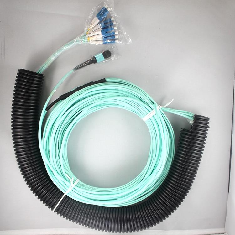 LC-MPO Gigabit OM3 multimode fiber 1 to 8LC-MPO Gigabit OM3 multimode fiber 1 to 8