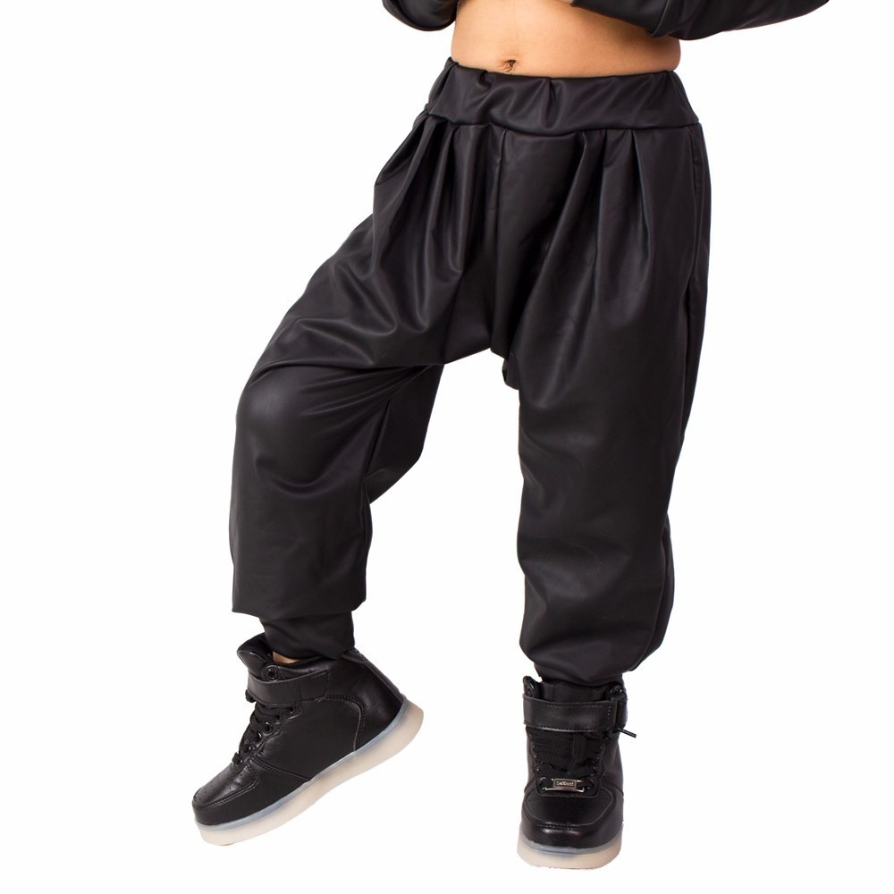 2018 New Fashion Kids Harem Hip Hop Spodnie do tańca Odzież - Ubrania dziecięce - Zdjęcie 3