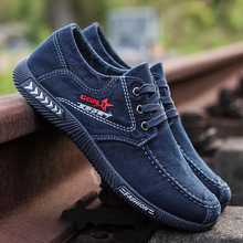 Fashion Denim Men Canvas Shoes Male Summer Mens Sneakers Slip On Breathable Casual Shoes Men Loafers Chaussure Homme men canvas flats shoes summer breathable casual sneakers male slip on solid comfortable loafers chaussure homme