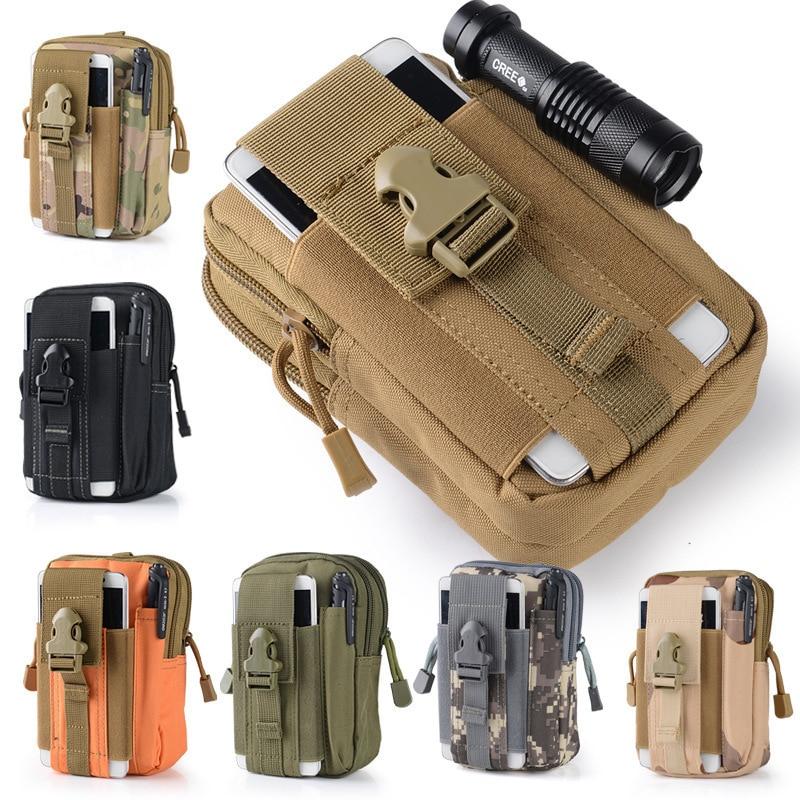 600D Tactical Waist Bag Waterproof Outdoor Military Waist Bags For Climbing Mollle Tactical Bag Men's Sports  WX130