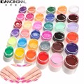 36 Colors Pure Color UV Nail Gel Polish Extension Professional DIY Nail Gel Art Tips Decorations Tools Manicure Nail Polish
