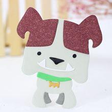 AZSG Cartoon Fierce Dog Cutting Dies For DIY Scrapbooking Decoretive Embossing Decoative Cards Die Cutter