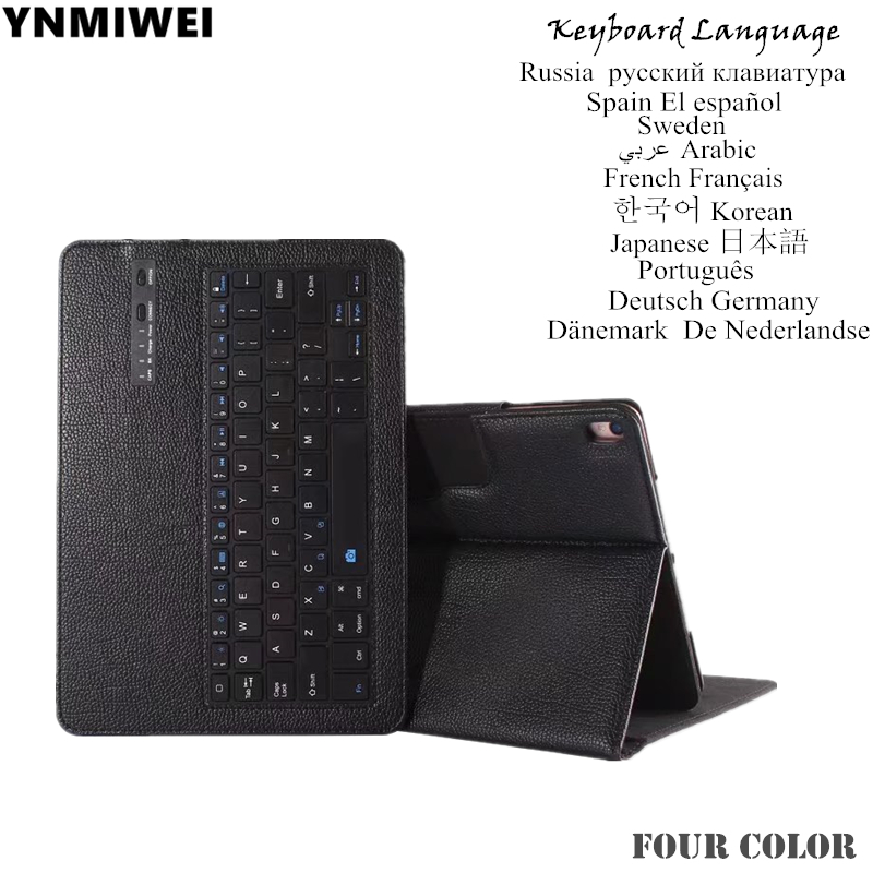 Tablet Case For For iPad Pro 10.5 Tablet Detachable Bluetooth Keyboard Pu Leather Case Multilingual russia spain keyboard case chris ott global solutions for multilingual applications